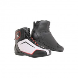Raptors Air Shoes Black White Lava Red