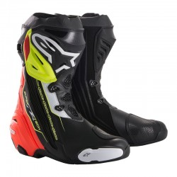 Supertech R Black Red Yellow Fluo