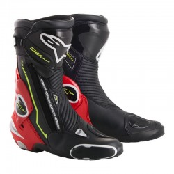 SMX Plus Boots Black Red Fluo White Yellow