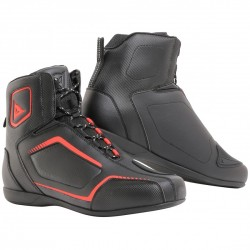 Raptors Air Shoes Black Fluo Red