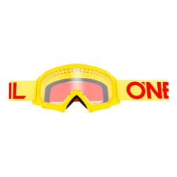 B-10 Youth Goggle Solid Yellow Red