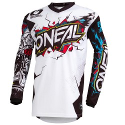 Element Youth Jersey Villain White