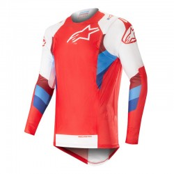 Supertech Jersey Red White