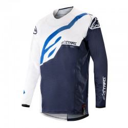 Techstar Factory Jersey White Blue Navy