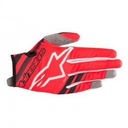 Youth Radar Gloves Red Black