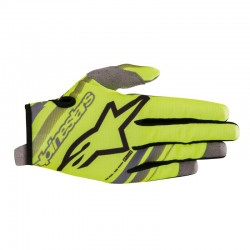 Youth Radar Gloves Yellow Black