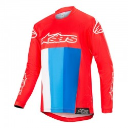 Youth Racer Venom Jersey Red White Blue