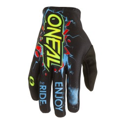 Matrix Youth Gloves Black Blue