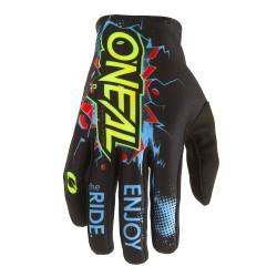 Matrix Youth Gloves Villian Black Blue