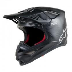 Supertech S-M 10 Solid Helmet Black Carbon