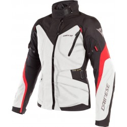 Dainese Tempest 2 D-Dry Jacket Gray Red Black 2f1d59193fef