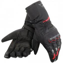 Tempest Unisex D-dry Long Gloves Black/Red