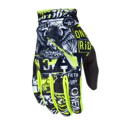 Matrix Youth Glove Attak Black Yellow