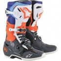 Tech 10 Gray Orange Blue White