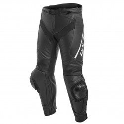 Delta 3 Leater Pants Black/Black/White