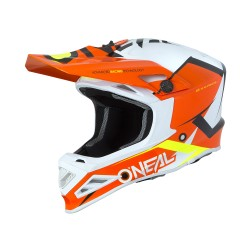 8 Series Helmet Blizzard Orange