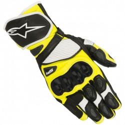 SP-1 V2 Gloves Black White Yellow Fluo
