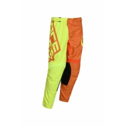 Pantalone Mx Eclipse Kid Giallo Arancio
