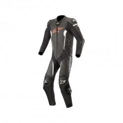 Missile Leather Suit Black Tech Air