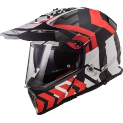 MX436 Pioneer Xtreme Matt Black Red