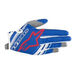 Youth Radar Gloves Blue White Red