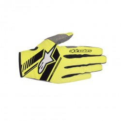 Neo Gloves Yellow Fl Black