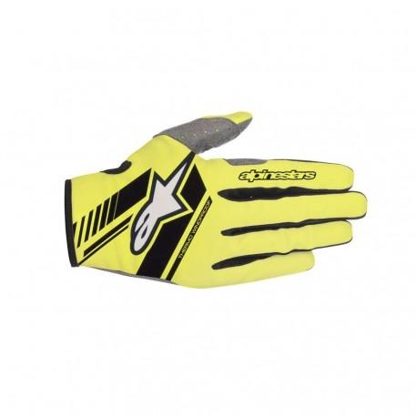 Neo Gloves Yellow Fl Black