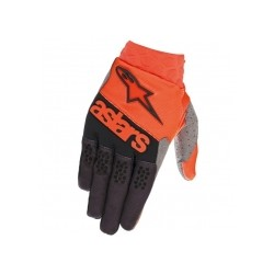 Neo Gloves Orange Fl Dark Blue