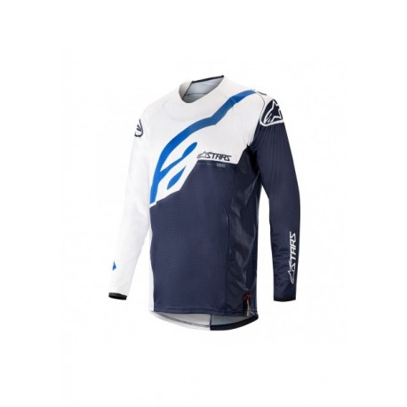 Techstar Factory Jersey White Dark Navy