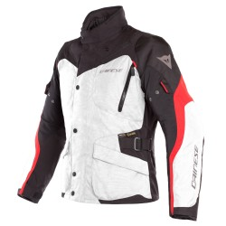 Tempest 2 Lady D-Dry Jacket Light-gray Black Tour Red