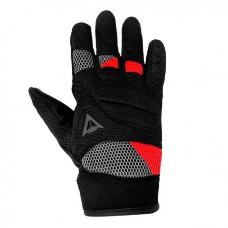 Fogal Gloves Unisex Black Red
