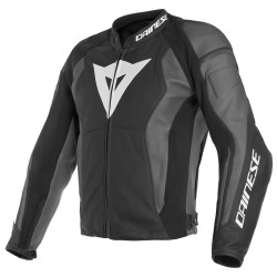 Nexus Leather Jacket Black Black Ebony