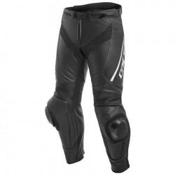 Delta 3 Leater Pants Perf Black/Black/White