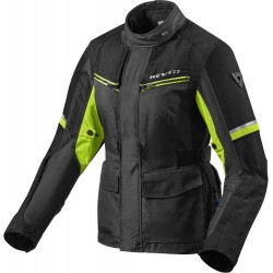 Outback 3 Lady Jacket black Neon Yellow