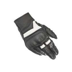 Axis Gloves Black White