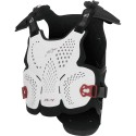 A-4 Chest Protector White-Black-Red
