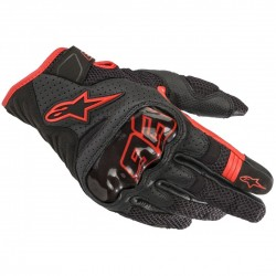 Rio Hondo Air Gloves Black-Red