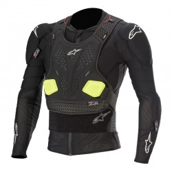 Bionic Pro V2 Protection Jacket Blk Yellow Fl