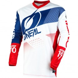 Element Jersey Factor White-blue-red