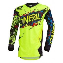 Element Youth Jersey Villain Neon Yellow