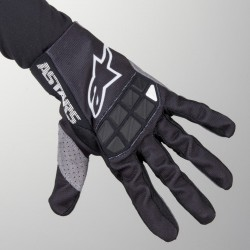 Racefend Gloves Black-White