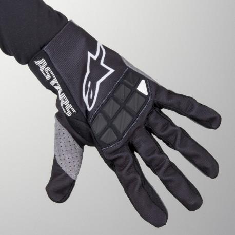 Racefend Gloves Black-White