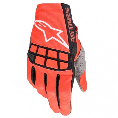Racefend Gloves Bright-Red-White