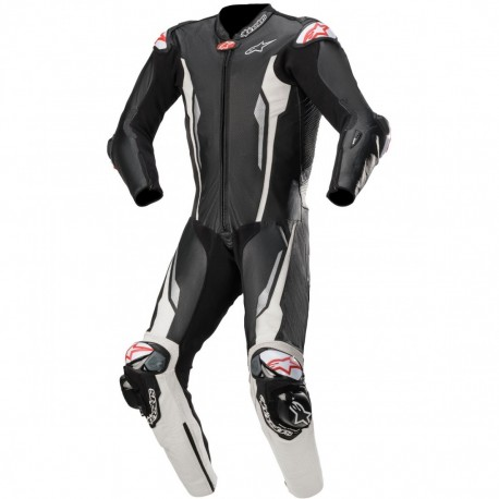 Racing Absolute 1PC Suit Tech Air Black White