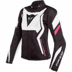 Edge Lady Tex  Jacket Black White Fuxia