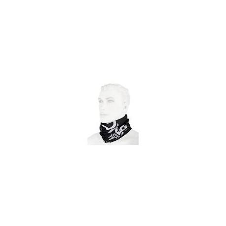 NeckWarmer Solid Black-white