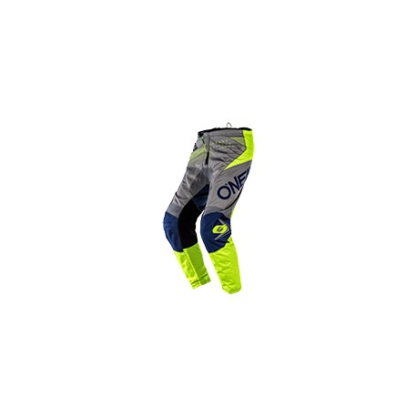 Element Youth Pants Factor Gray-Blue-Neon Yellow