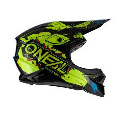 2 Series Youth Helmet Villain Neon Yellow