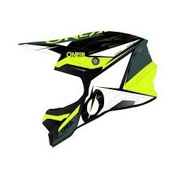 3Series Helmet Stardust Black White Yellow