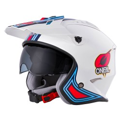 VOLT Helmet MN1 White Red Blue